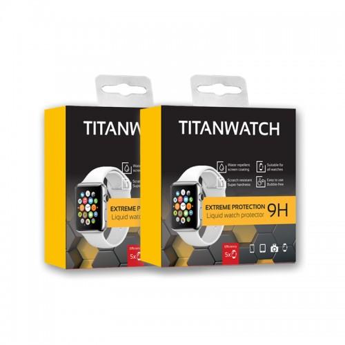 TITANWATCH 2 Stücke -Displayschutz flüssig Armbanduhr...