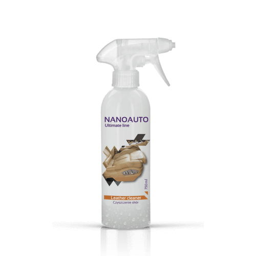 NANOAUTO LEATHER CLEANER - professional leather cleaner