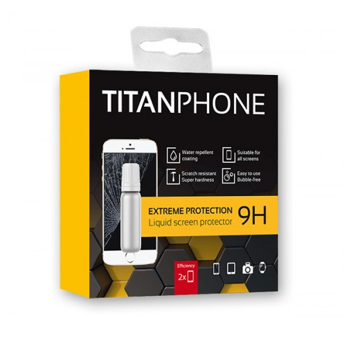 TITANPHONE - Liquid Screen protector for smartphones